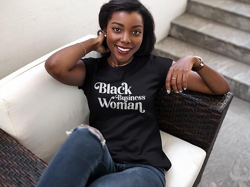 Black Business Woman Tee