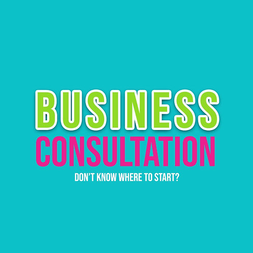 30 Minute Business Consultation