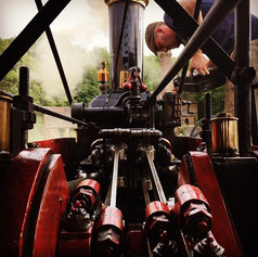 Getting Joe ready for the big haul tomorrow from Blists Hill to Onslow Park #fowler #steam #blistshillvictorianvillage #steampower #steameng