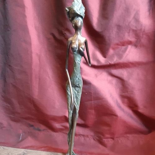 Statues bronze