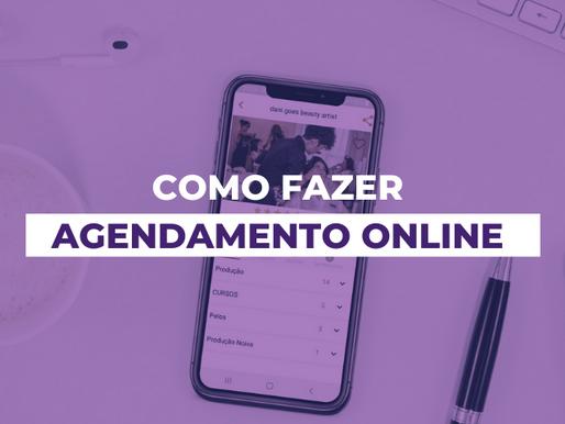 Como agendar online