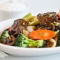 "52.  Sautee Broccoli Soy "" Beef"""