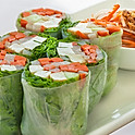 2. Spring Rolls (Non-Fried)