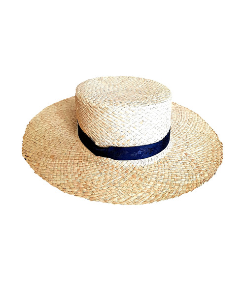 9ca99dcf2 Straw boater hat