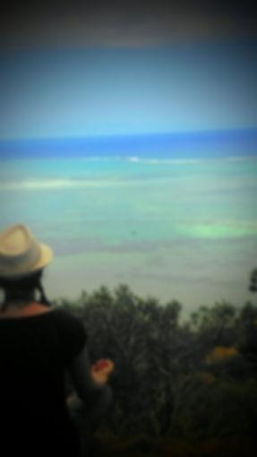 Méditation, mer, nature, respirer
