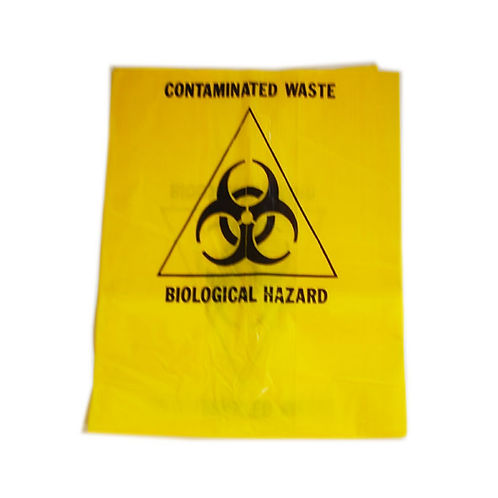 Biohazard Waste Bag - Pack of 10