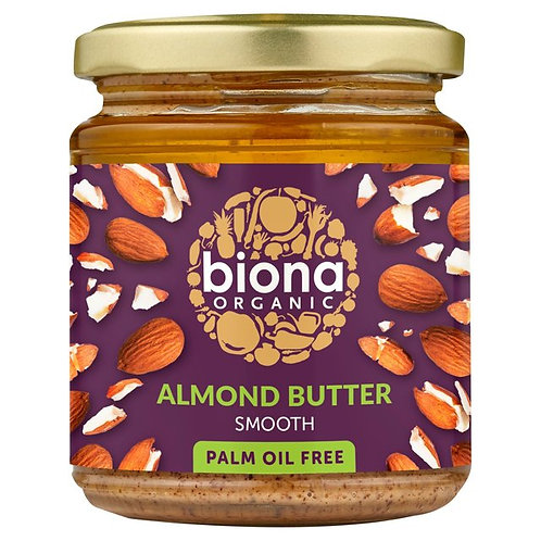 Biona Organic Almond Butter, 170 g
