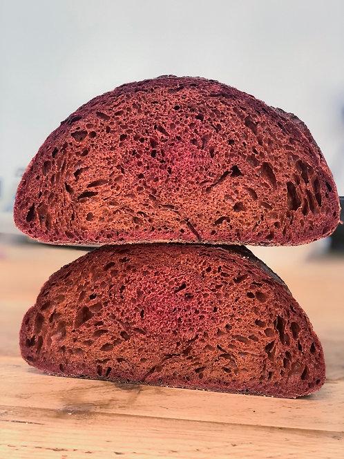 Beetroot Sourdough bread