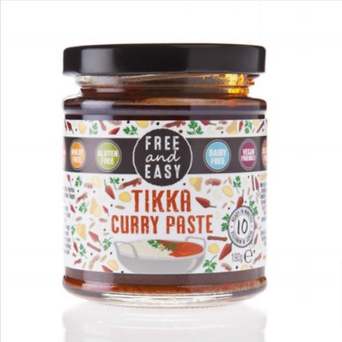 Free & Easy Gluten Free Tikka Curry Paste, 198 g