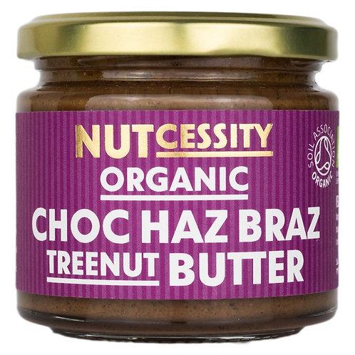 Nutcessity Chocolate Hazel & Brazil Nut Butter, 180 g