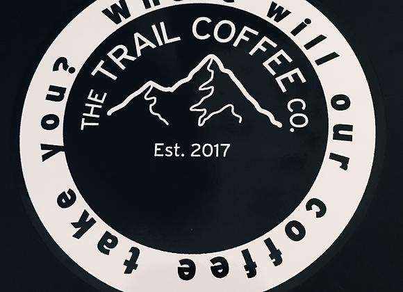 The Trail Coffee Company Sticker