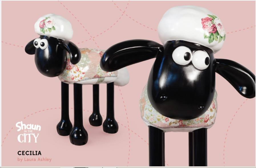 shaun the sheep laura ashley