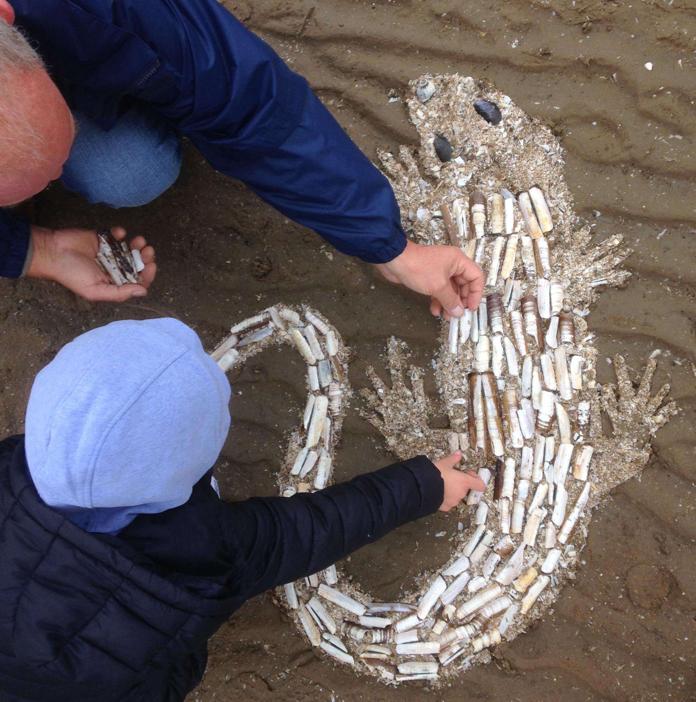 beach art event