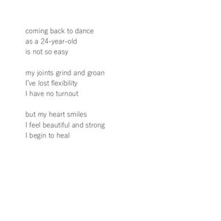 Dance 3 Haiku
