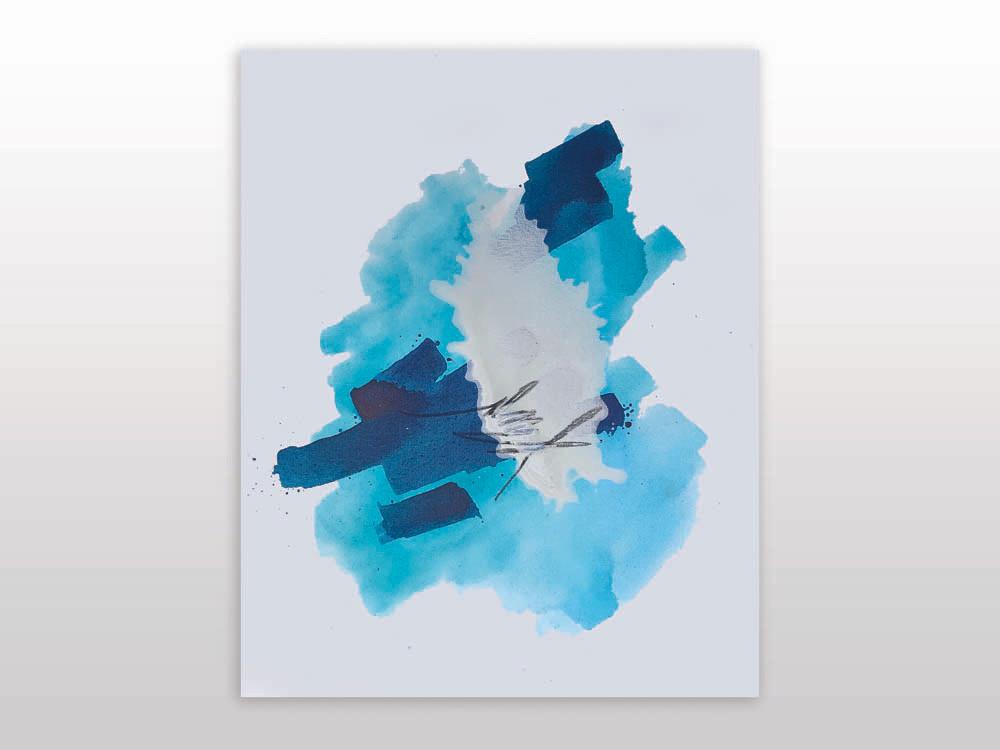 Mapless Blue no1, 2019