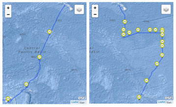 Expedition Routes