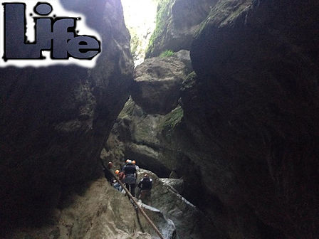 canyoning torrentismo pago le fosse umbria
