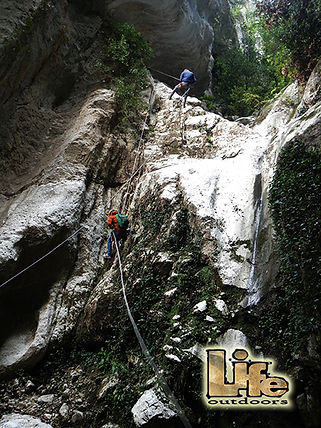 canyoning torrentismo umbria