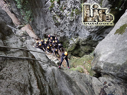 Canyoning Umbria Rocca Gelli
