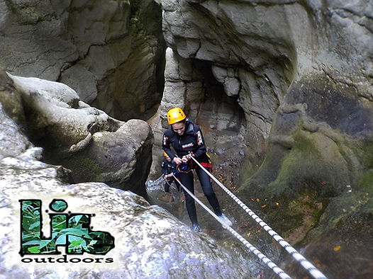 canyoning prodo umbria torrentismo discesa in corda