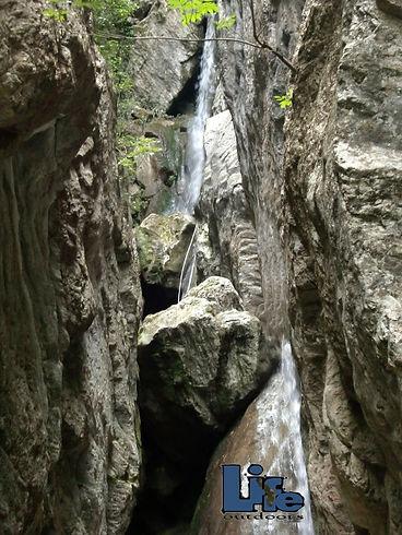 Canyoning torrentismo Umbria Rocca Gelli