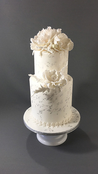 Candy and Grim Wedding Cake
