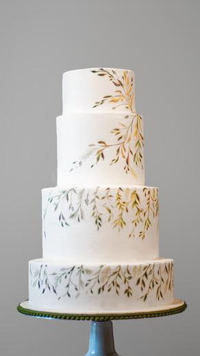 Candy and Grim Wedding Cakedding cake