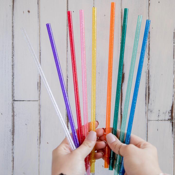 Glitter Straws