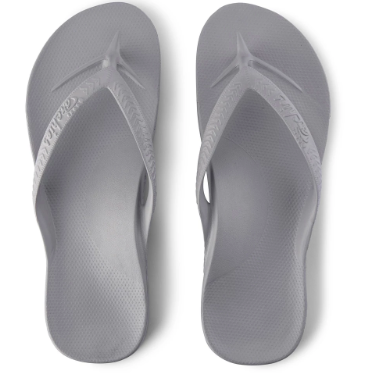 Archies - Arch Support Thongs Grey
