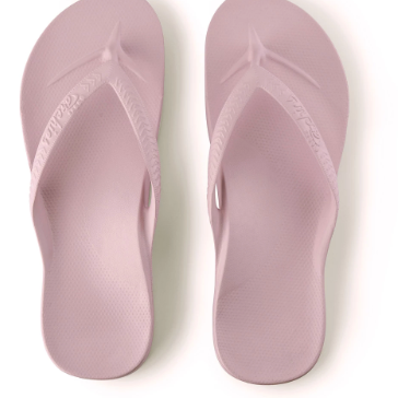 Archies - Arch Support Thongs Lilac