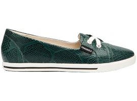 Frankie 4 - Hannah Forest Green Reptile