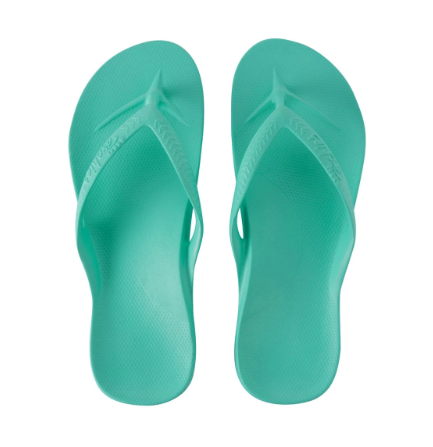 Archies - Arch Support Thongs Mint