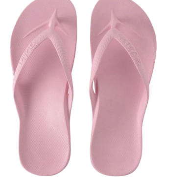 Archies - Arch Support Thongs  Pink