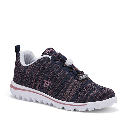 Propet - TravelFit Navy/Dusty Rose