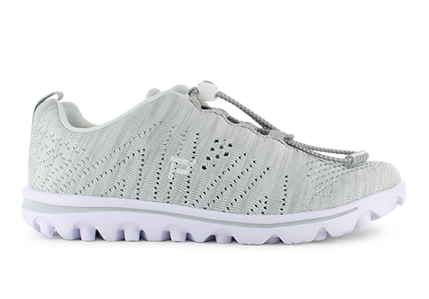 Propet - TravelFit Women Silver/White