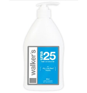2 x Walker's - Urea 25 Heel Conditioner 500ml