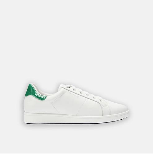 FRANKiE 4 - JACKiE White/Emerald Croc