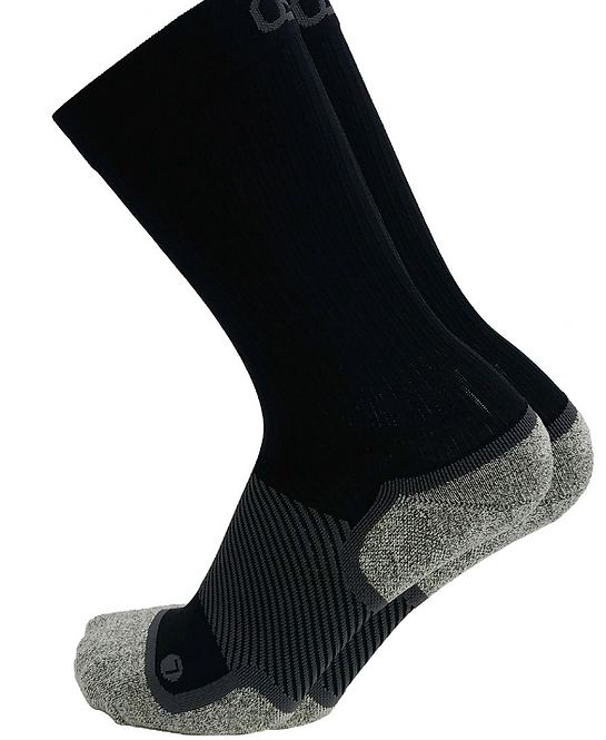 OS1st -Wellness Performance Crew Sock Black