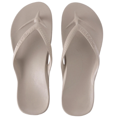 Archies - Arch Support Thongs Taupe