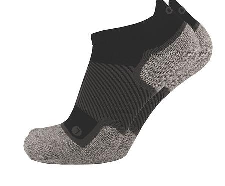 OS1st - Wellness Performance No Show Sock Black