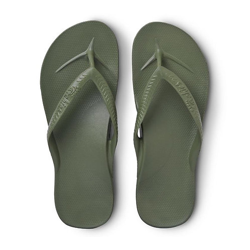 Archies - Arch Support Thongs Khaki