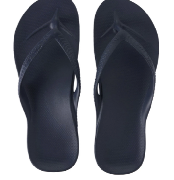 Archies - Arch Support Thongs Navy