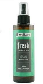 2 x Walker's - Fresh Foot & Shoe Spray