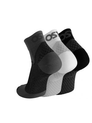 OS1- FS4  Quarter Crew Sock White