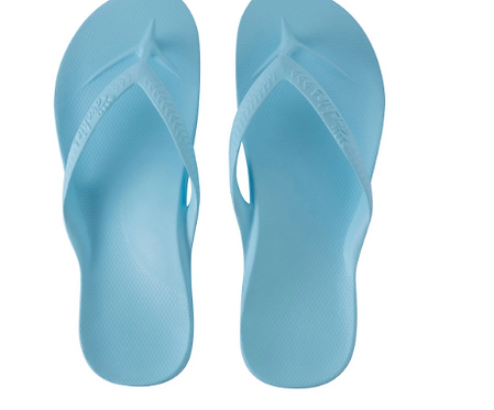 Archies - Arch Support Thongs Sky Blue