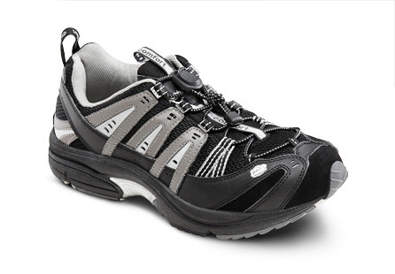 Dr Comfort - Performance Black/Grey