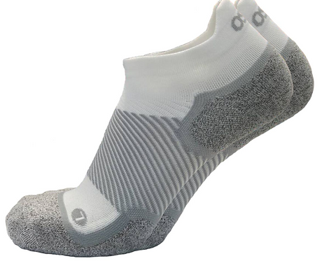 OS1st - Wellness Performance No Show Sock White