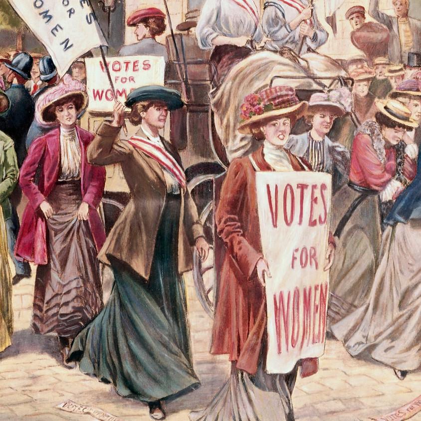 Suffragette Living History Week
