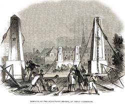Suspension Bridge 1845