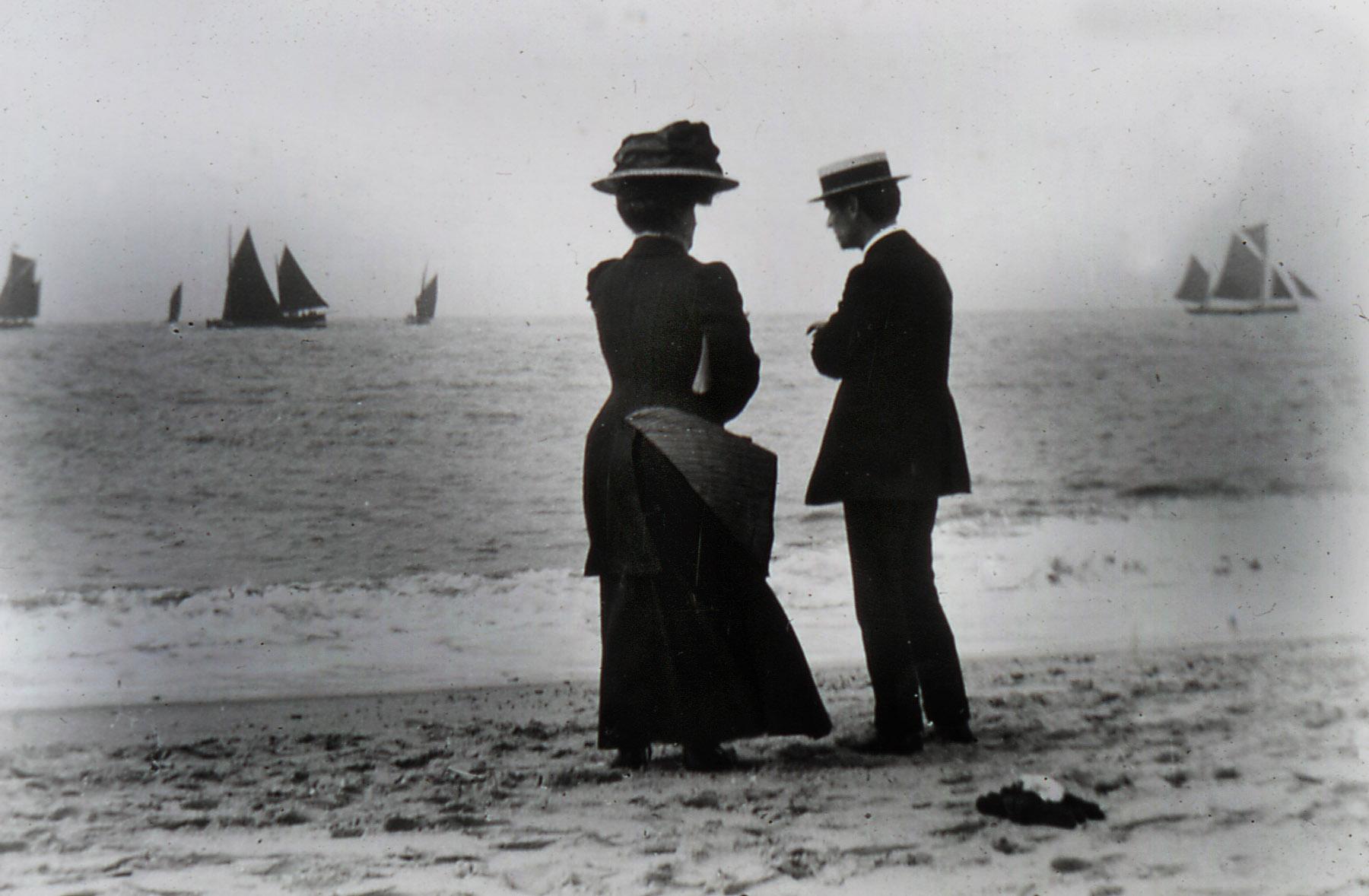 Edwardian Beach Scene